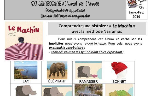 """Mon utilisation de la méthode Narramus : """"Le Machin"""""""