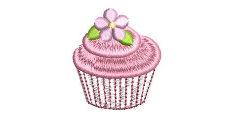 BRODERIE CUP CAKE FRAISE