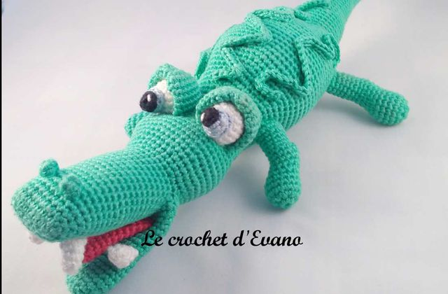 Amigurumi Ali, l'alligator