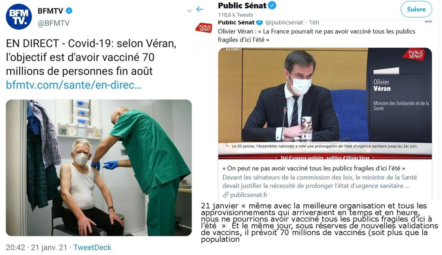 VACCINATIONS : BLOCAGE COMPLET