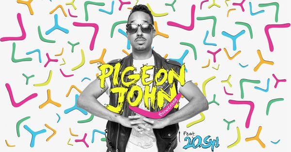Pigeon John joue au Boomerang avec la caméra !