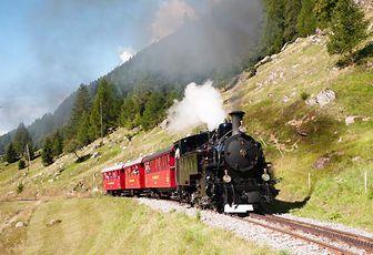 La Svizzera, il Paese dei treni
