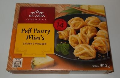 Lidl Vitasia Puff Pastry Mini's Chicken & Pineapple
