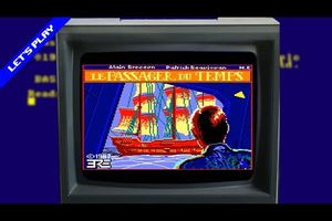 [Let's Play] Le Passager du Temps (Amstrad CPC)
