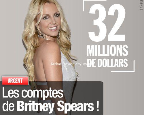 Les comptes de Britney Spears !