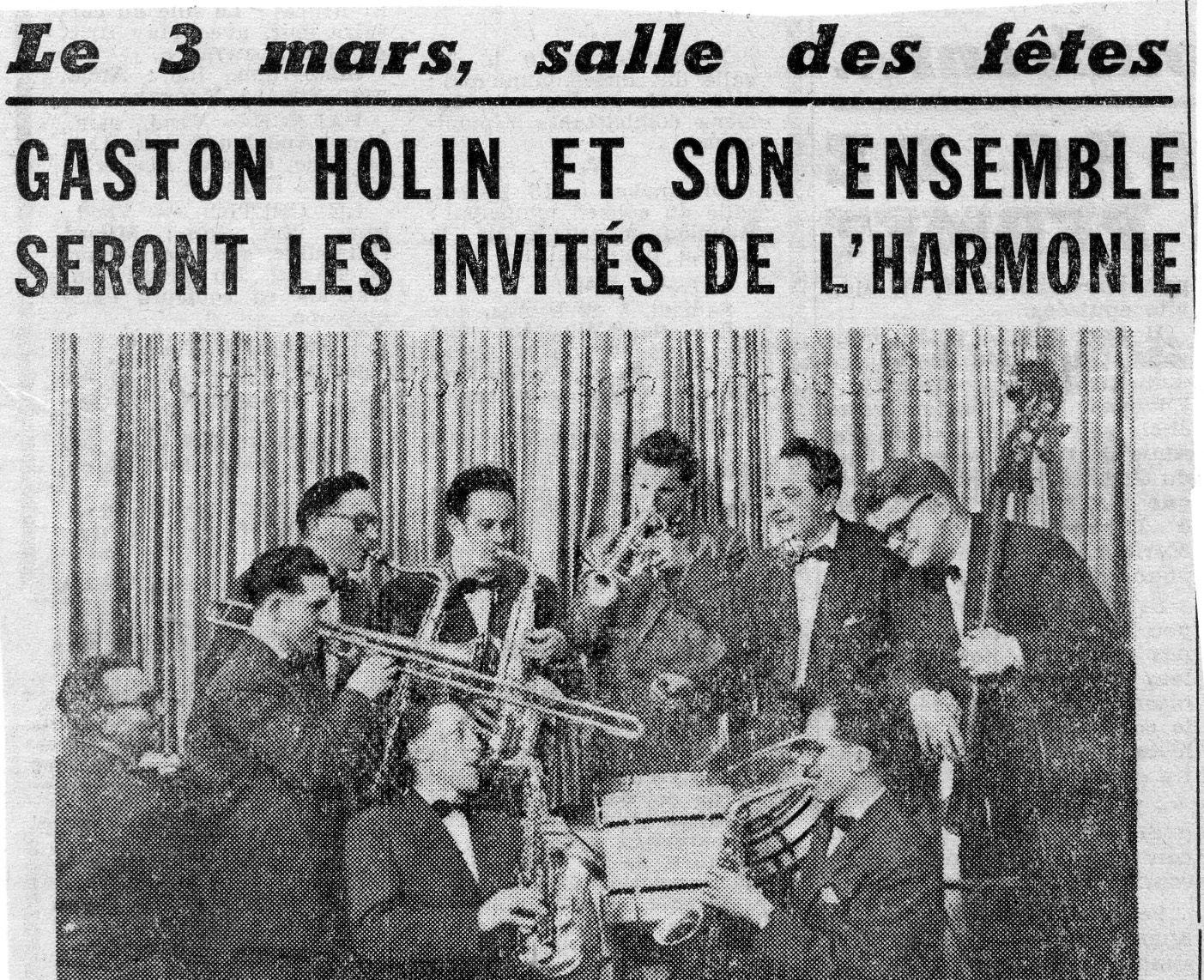 Album - la ville de Noyon ( Oise ), les bals à la salle des fêtes