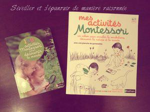Deux ouvrages Montessori pour découvrir le monde et la nature