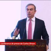 """DIRECT. """"Je ne suis pas au-dessus des lois, mais je suis heureux de faire éclater la vérité"""" : Carlos Ghosn s'explique devant les journalistes"""