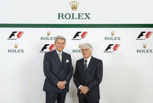 Sponsoring : Rolex devient partenaire de la F1