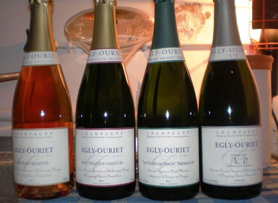 Mercredi 13 janvier 2016 : « Le Champagne par le Domaine Egly-Ouriet »