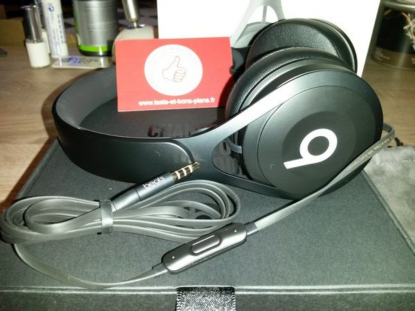 Test : casque audio Beats EP supra auriculaire - Beats by Dre