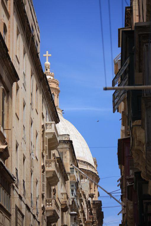 La Valette (Valletta en maltais et en anglais, de l'italien La Valletta) est la capitale de la République de Malte. Photos Mariela et Emmanuel CRIVAT 2012