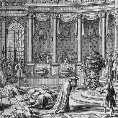 A 435-  LE DERNIER DES CADEAUX DU ROI NARAI Á LOUIS XIV ET LE SEUL CONNU Á CE JOUR A RETROUVÉ SA PLACE Á VERSAILLES EN 2018