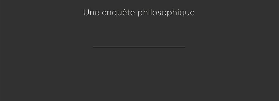 Innovations : l'enquête philosophique