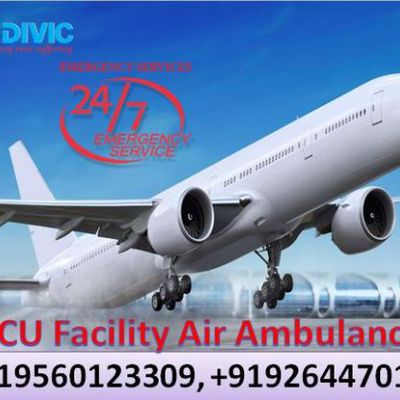 Medivic Aviation Air Ambulance is Available for 24/7 in Bangalore