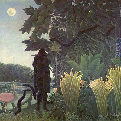 La Charmeuse de serpents du Douanier Rousseau & JARDINS DES TROPIQUES du Francis de Croisset