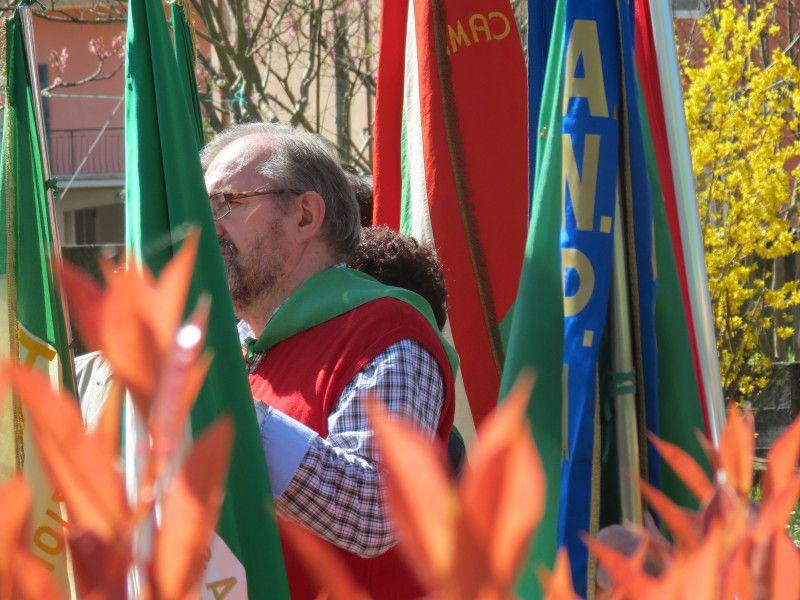 14 aprile 2013: a Sestri Levante per ricordare il partigiano Arturo Arosio, fucilato dai fascisti