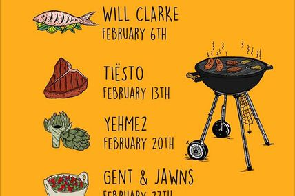 Tiësto, new mix for The Cookout - February 13, 2018 | Radio Electric Area, Sirius XM