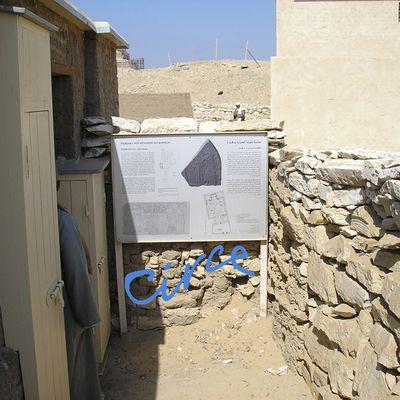 La tumba-capilla de Pay y Raia en Saqqara