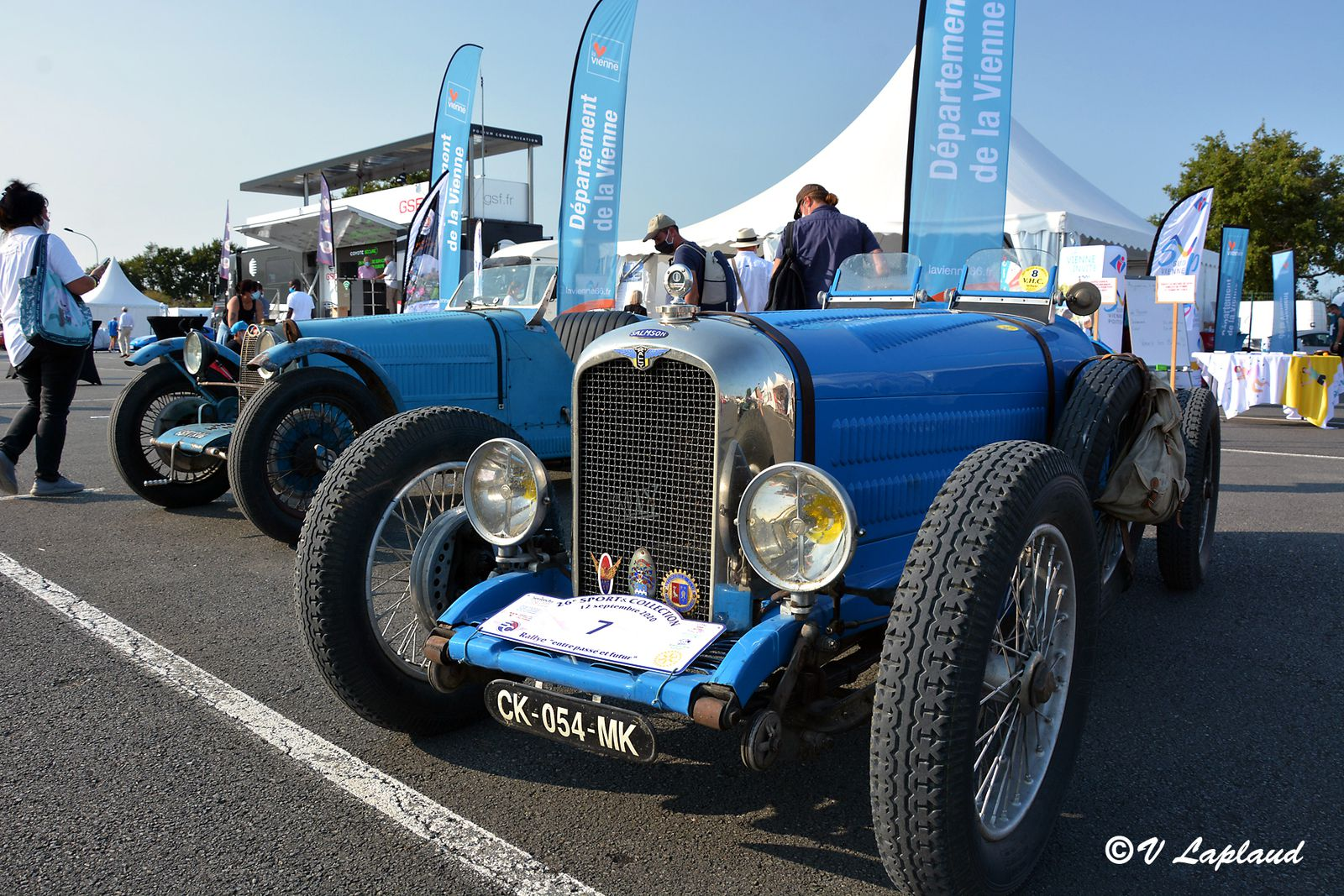 Rally Salmson, Bugatti Type 38, Le Vigeant 2020, 26eme Sport et Collection.
