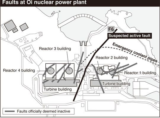 """""""Stop the reactors to conduct thorough surveys to check all of them first'"""