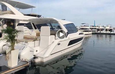 Aquila 36 - visite privée d'un catamaran à moteur très innovant