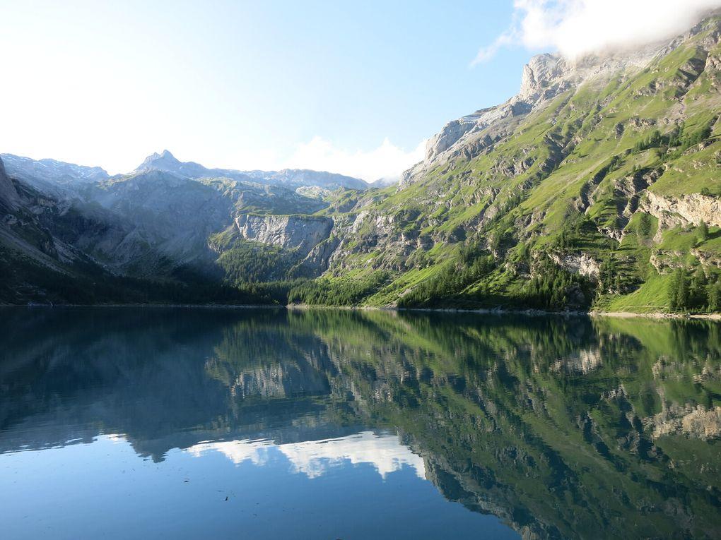Entre bisse et barrage : le Lac de Tseuzier