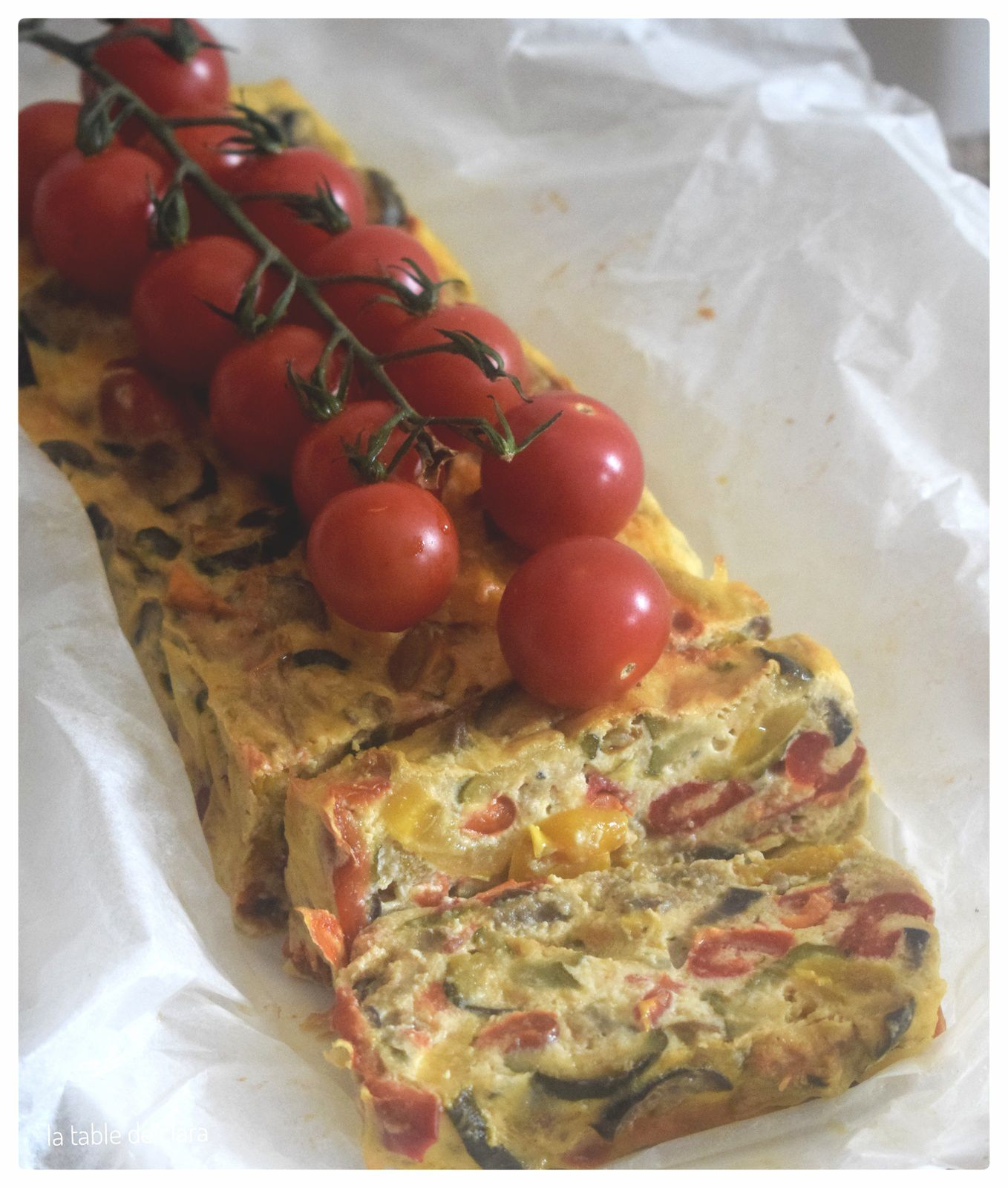 Terrine à la ratatouille