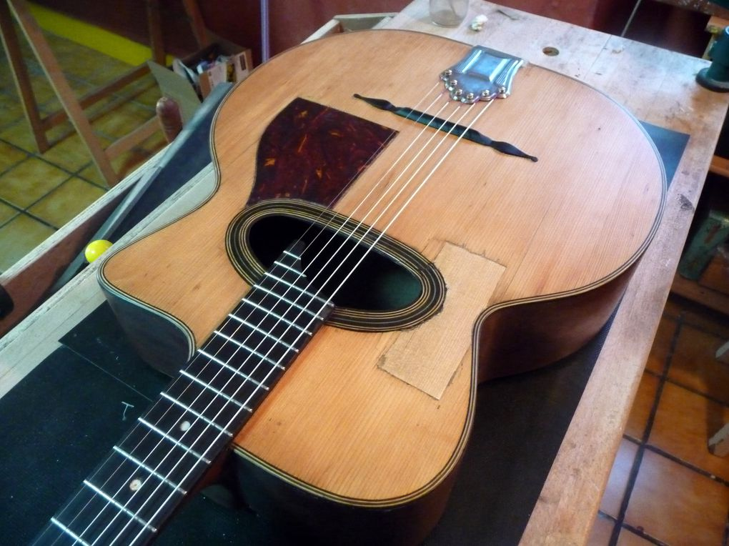 Album - Restauration guitare jazz Dimauro