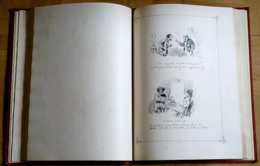 Album Cham. Texte par IGNOTUS  du FIGARO