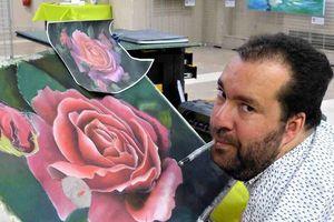 Vouvant. Expo et ateliers avec des peintres extraordinaires