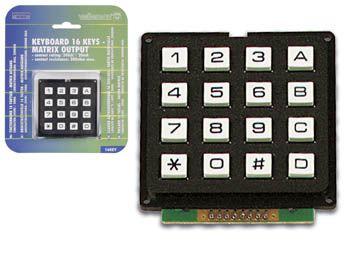 Arduino - clavier matriciel anti-rebond