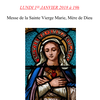 Messe du Lundi 1er janvier 2018