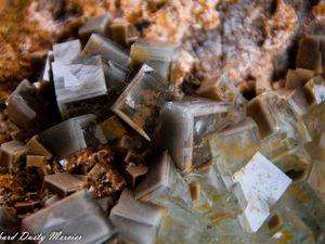 Fluorite (Fluorine) from Xianghuapu Mine, Linwu, Chenzhou, Hunan, China (size: Museum)
