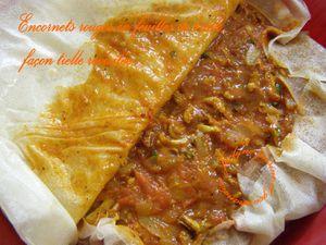 Encornets rouges en feuilles de brick, façon tielle revisitée Jaclyne www.cuisineetgourmandise.fr