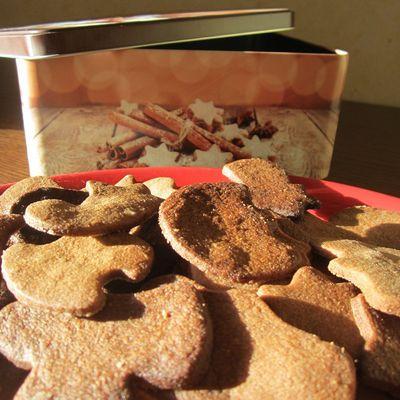 Les sablés de Noël au cacao