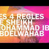 LIVRE AUDIO ISLAMIQUE : LES 4 RÈGLES DE SH.MOHAMMAD IBN ABDELWAHHAB.