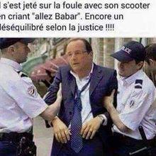"""Si l'on pensait que François Hollande n'avait plus à gérer que les """"affaires courantes"""" on se trompait!  Il peut encore nuire à nos volontés !"""