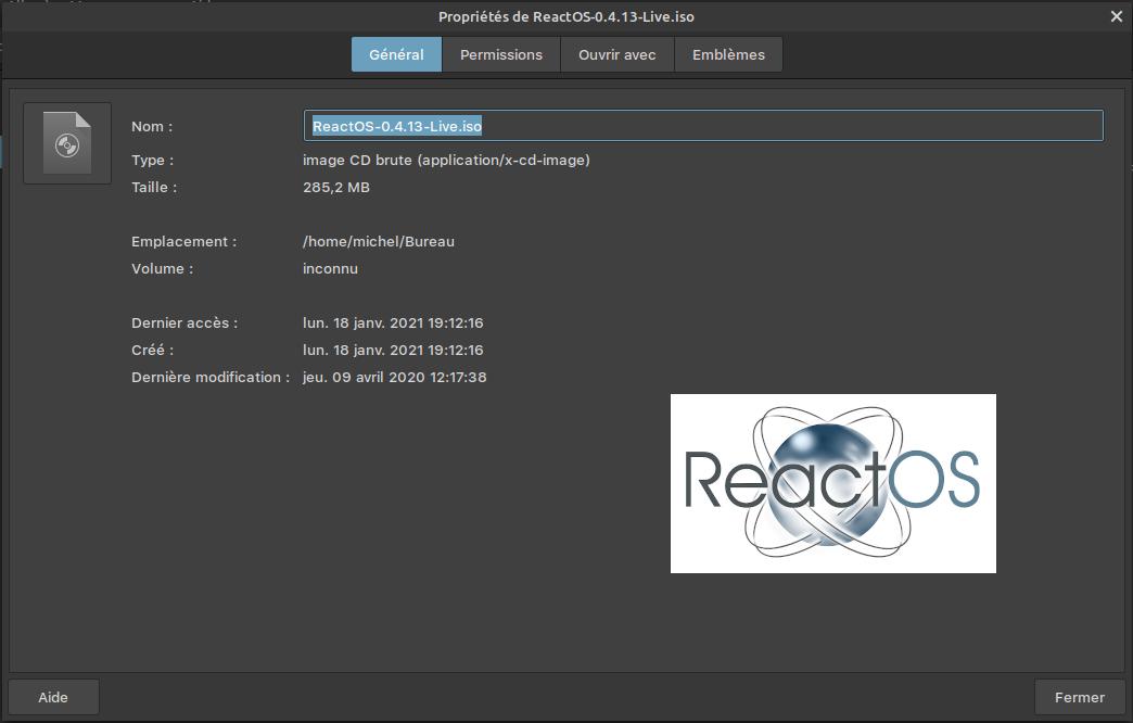 ReactOs : Un Windows open source ...