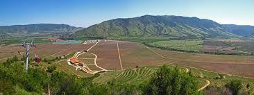 La Vallée central du Chili et la Vigne