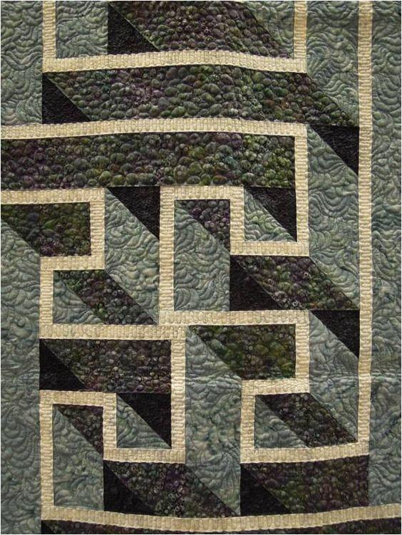 Un patchwork en relief.Le mur de Jérico.