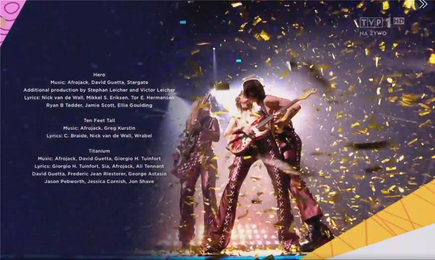 Les médias LGBT ont pris note du baiser entre Damiano et Thomas, diffusé après avoir accepté le prix sur scène.