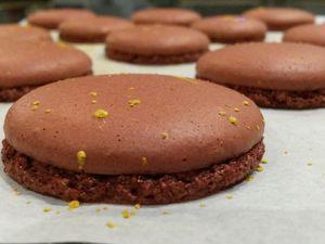 Macarons au chocolat - Angel's Kitchen