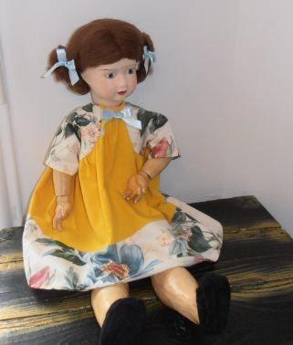 Linette une des grandes poupées du magazine Lisette