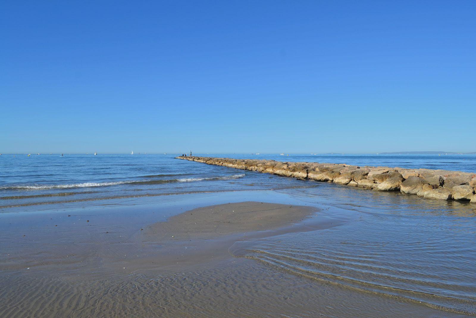 La plage du Boucanet...