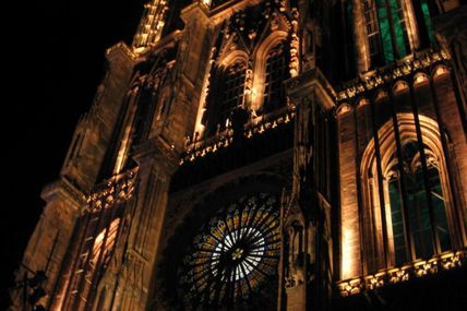 Cathédrale by night :