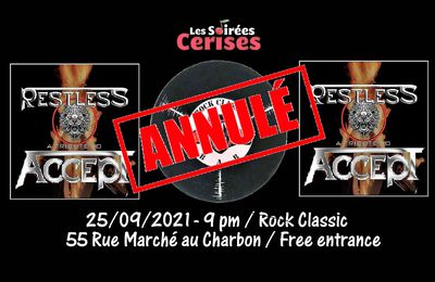 🎵 Restless (ACCEPT tribute band) @ Rock Classic - annulé