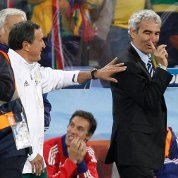 Mondial: incident Domenech-Parreira