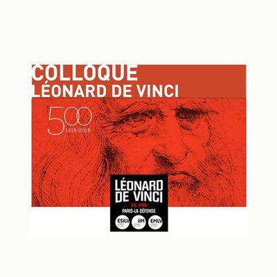 Colloque Léonard de Vinci - mardi 3 Décembre - Pôle Léonard de Vinci