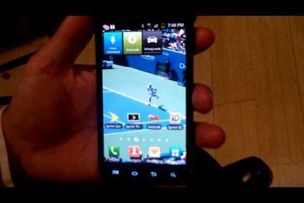 Hands on with the Samsung Galaxy S II Android smartphone for Sprint